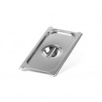 Крышка Luxstahl из нержавеющей стали для GN 1/3 с ручками [813-L]