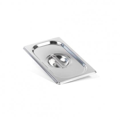 Крышка Luxstahl из нержавеющей стали для GN 1/4 [814-L] - интернет-магазин КленМаркет.ру