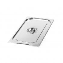 Крышка Luxstahl из нержавеющей стали для GN 1/1 с ручками [811-L]