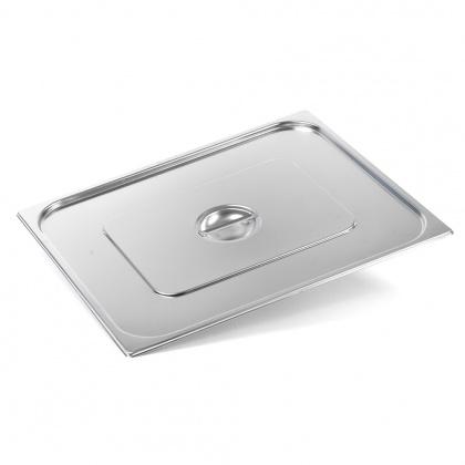 Крышка Luxstahl из нержавеющей стали для GN 2/1 [821-L] - интернет-магазин КленМаркет.ру