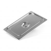 Крышка Luxstahl из нержавеющей стали для GN 1/1 [811-L]