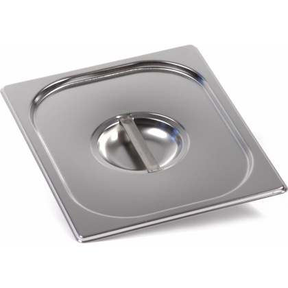 Крышка Luxstahl из нержавеющей стали для GN 1/2 [812-L]  - интернет-магазин КленМаркет.ру