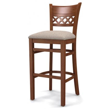 Стул барный «Эдинбург» с мягким сиденьем (деревянный каркас) - интернет-магазин КленМаркет.ру