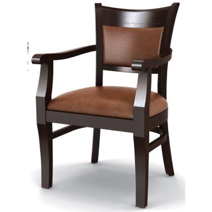 Стул «Честер» с мягким сиденьем и подлокотниками (деревянный каркас) - интернет-магазин КленМаркет.ру