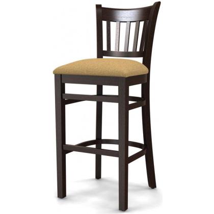 Стул барный «Ливерпуль» с мягким сиденьем (деревянный каркас) - интернет-магазин КленМаркет.ру
