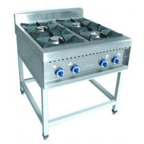 Плита газовая ABAT ПГК-49П четырехгорелочная без жарочного шкафа (серия 900)