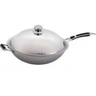 Сковорода ВОК 360 мм с крышкой