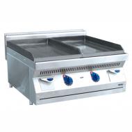 Жарочная поверхность (аппарат контактной обработки) ABAT АКО-80Н гладкая/рифленая (серия 700)
