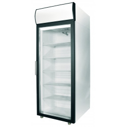 Шкаф холодильный POLAIR ШХ-0,5 ДС (DM105-S) (стеклянная дверь) - интернет-магазин КленМаркет.ру
