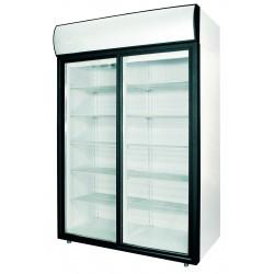Шкаф холодильный POLAIR ШХ-1,4 (DM114Sd-S) (стеклянные двери-купе) - интернет-магазин КленМаркет.ру