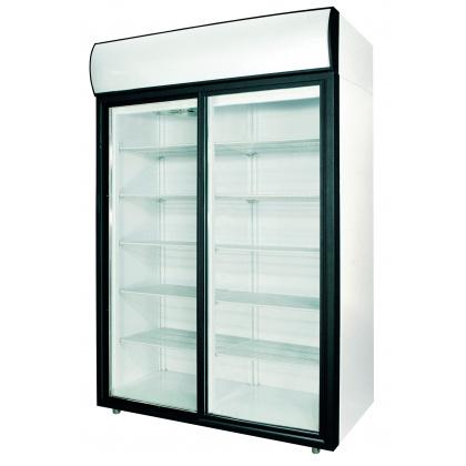 Шкаф холодильный POLAIR ШХ-1,0 (DM110Sd-S) (стеклянные двери-купе) - интернет-магазин КленМаркет.ру