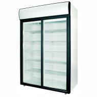 Шкаф холодильный POLAIR ШХ-1,0 (DM110Sd-S) (стеклянные двери-купе)