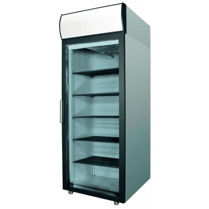 Шкаф холодильный POLAIR ШХ-0,5 ДС (DM105-G) (нержавеющая сталь) - интернет-магазин КленМаркет.ру