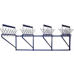 Вешалка гардеробная М163-02 (48 крючков на одном уровне) - интернет-магазин КленМаркет.ру