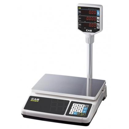 Весы торговые CAS PR-15 Р (LCD,II) - интернет-магазин КленМаркет.ру