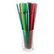 Трубочки со сгибом разноцветные 240 мм 1000 шт [ПС-280710]