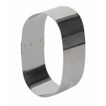 Форма для выпечки/выкладки гарнира или салата «Овал» 90х55 мм