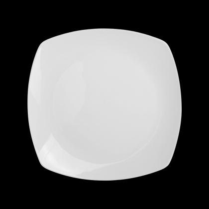 Тарелка квадратная «Chan Wave» 255 мм - интернет-магазин КленМаркет.ру