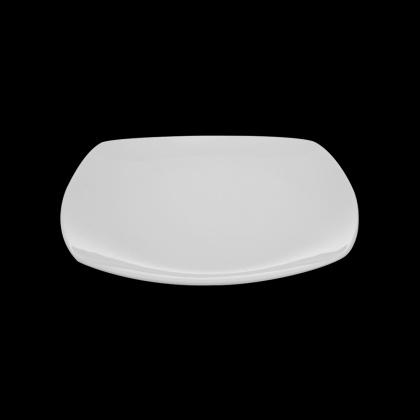 Тарелка квадратная «Chan Wave» 230 мм - интернет-магазин КленМаркет.ру