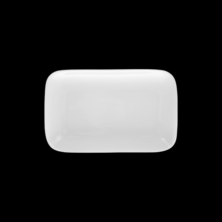 Блюдо прямоугольное «Chan Wave» 110х80 мм