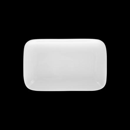 Блюдо прямоугольное «Chan Wave» 138х90 мм