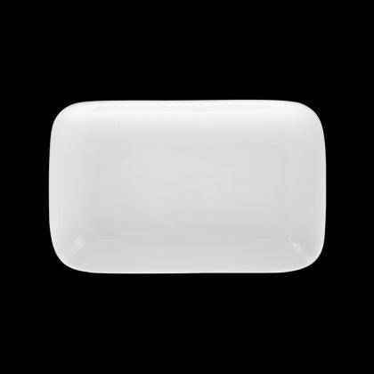 Блюдо прямоугольное «Chan Wave» 240х150 мм - интернет-магазин КленМаркет.ру