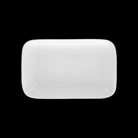 Блюдо прямоугольное «Chan Wave» 185х120 мм