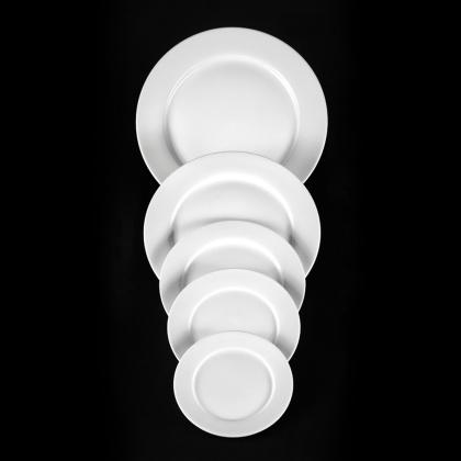 Тарелка мелкая «Chan Wave» 200 мм - интернет-магазин КленМаркет.ру