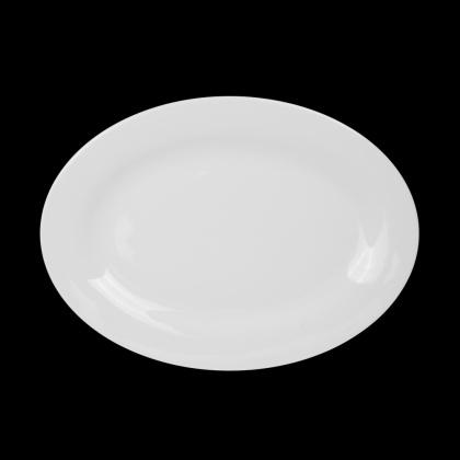 Блюдо овальное «Chan Wave» 350 мм - интернет-магазин КленМаркет.ру