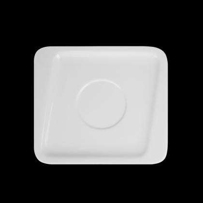 Блюдце квадратное для бульонницы «Sam&Squito» 175 мм - интернет-магазин КленМаркет.ру