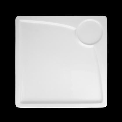 Блюдо квадратное для завтрака «Sam&Squito» 245 мм - интернет-магазин КленМаркет.ру