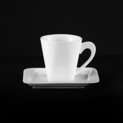 Чайная пара квадратная «Sam&Squito» 170 мл - интернет-магазин КленМаркет.ру