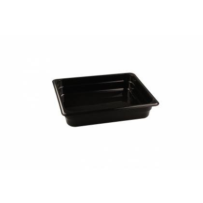 Гастроемкость из полипропилена без крышки GN 1/2 325х265x65 мм черная [422107413] - интернет-магазин КленМаркет.ру