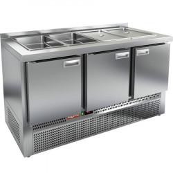 Стол охлаждаемый для салатов SLE3-111GN - интернет-магазин КленМаркет.ру
