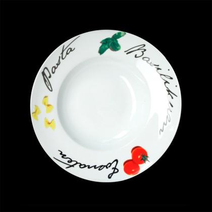 Тарелка для пасты «Черри» «CaBaRe» 300 мм - интернет-магазин КленМаркет.ру
