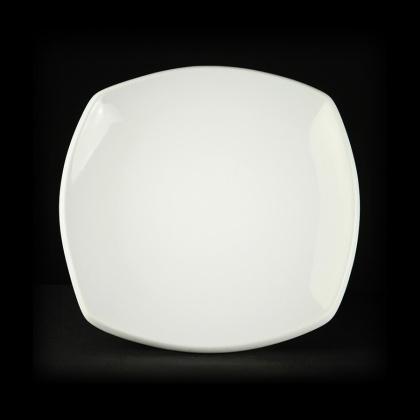 Тарелка мелкая квадратная «CaBaRe» 250 мм - интернет-магазин КленМаркет.ру