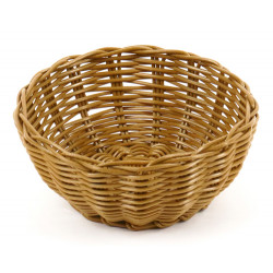 Корзинка пластиковая 175 мм коричневая [KT2024] - интернет-магазин КленМаркет.ру