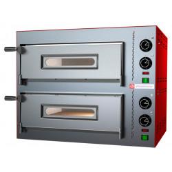 Печь для пиццы PIZZA GROUP Compact M35/8-B (2 камеры) - интернет-магазин КленМаркет.ру