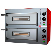 Печь для пиццы PIZZA GROUP Compact M35/8-B (2 камеры)