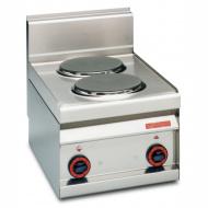Плита электрическая LOTUS PC-4ET двухконфорочная без жарочного шкафа (серия 65)