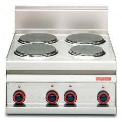 Плита электрическая LOTUS PC-6ET четырехконфорочная без жарочного шкафа (серия 65) - интернет-магазин КленМаркет.ру