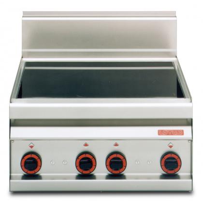 Плита электрическая LOTUS PCC-6ET четыре зоны нагрева, без жарочного шкафа (серия 65) 380 В - интернет-магазин КленМаркет.ру