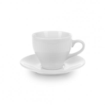 Чайная пара с круглым блюдцем «Collage» 150 мл - интернет-магазин КленМаркет.ру