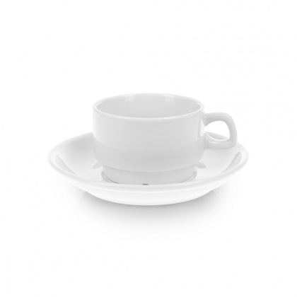 Чайная пара с круглым блюдцем «Collage» 180 мл - интернет-магазин КленМаркет.ру