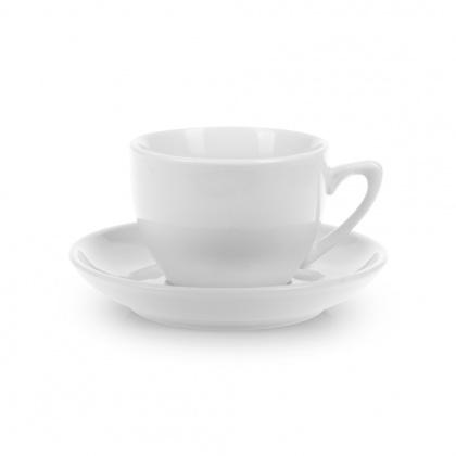 Чайная пара с круглым блюдцем «Collage» 210 мл - интернет-магазин КленМаркет.ру