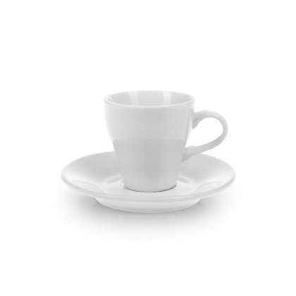 Кофейная пара с круглым блюдцем «Collage» 90 мл - интернет-магазин КленМаркет.ру