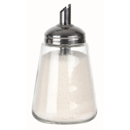 Сахарница с дозатором 240 мл Luxstahl [742] - интернет-магазин КленМаркет.ру