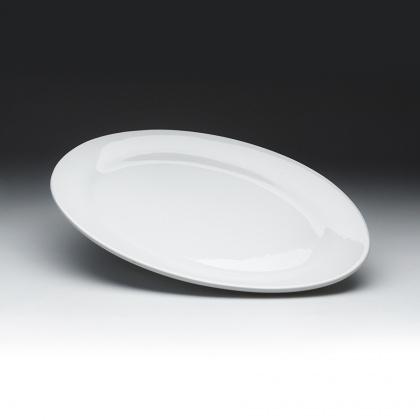 Блюдо овальное широкое «Day» 450 мм - интернет-магазин КленМаркет.ру