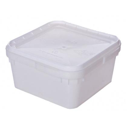 Контейнер универсальный (куботейнер) 340х340х160 мм квадратный пластик [е-002] - интернет-магазин КленМаркет.ру