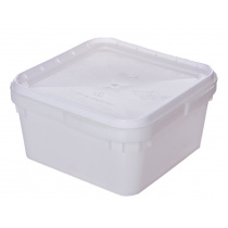 Контейнер универсальный (куботейнер) 340х340х160 мм квадратный пластик [е-002]